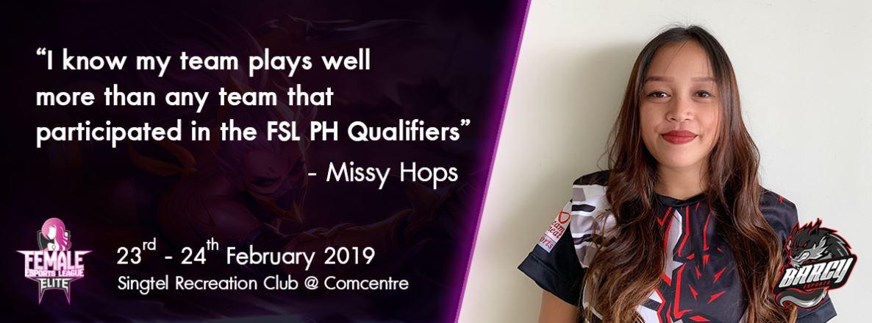 FSL Elite PH Qualifier Winner -Barcy Esports Interview